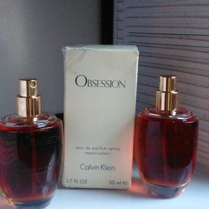 Two Bottles No Tops Obsession By Calvin Klein